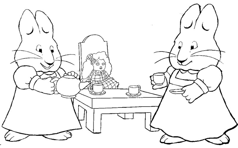 Disegno Da Colorare Max E Ruby 2 Max And Ruby Coloring Pages
