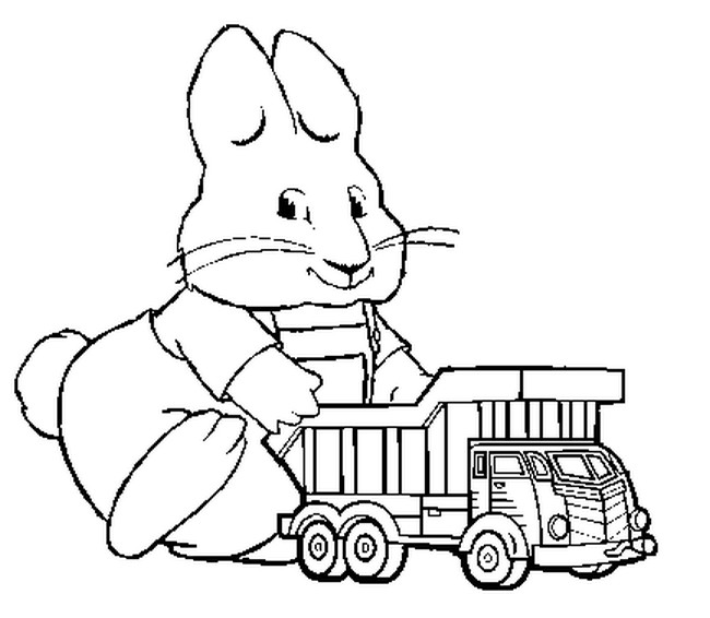 Free Coloring Pages Of Max Et Ruby