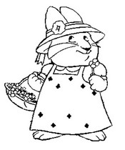Coloring Pages Max and Ruby Drawing