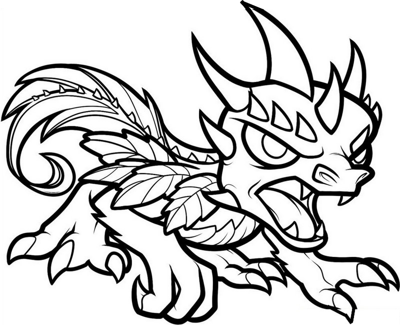 skylanders coloring pages terrafin - photo#36