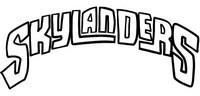 Kleurplaat Logo Skylanders