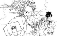 Coloring page Fairy Tail