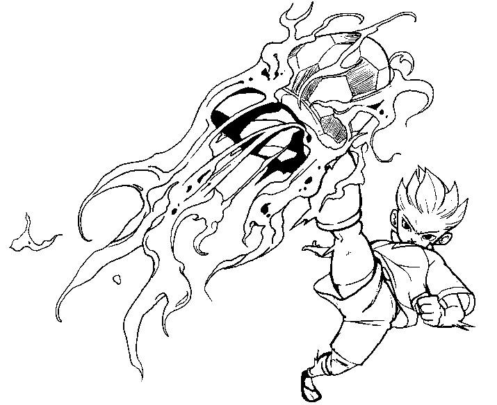 Dibujos para colorear Inazuma Eleven Dibujos para imprimir