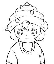 Dibujo para colorear Inazuma Eleven