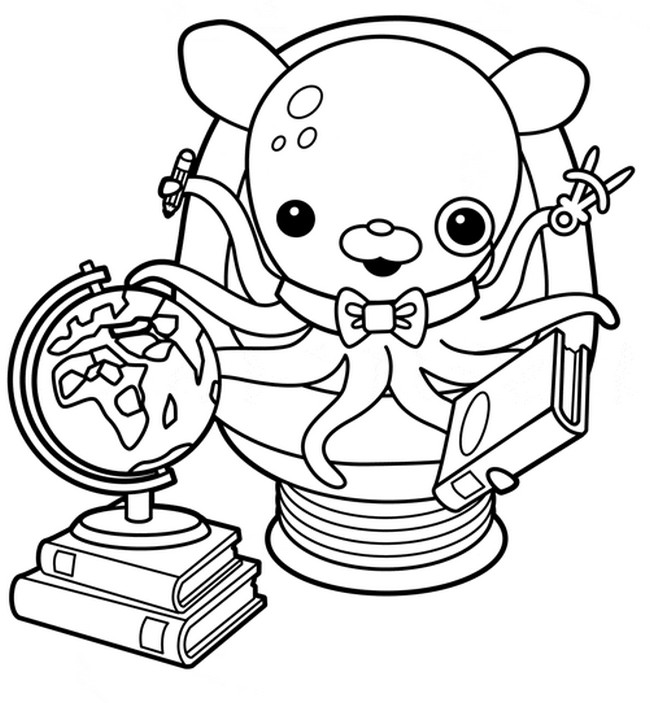Coloring Page The Octonauts 8 Octonauts Coloring Pages To Print