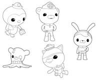Desenho para colorir Octonauts