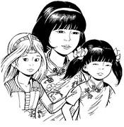 Desenho para colorir Yoko Tsuno