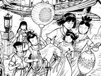 Disegno da colorare Yoko Tsuno