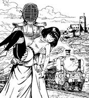 Coloring page Yoko Tsuno
