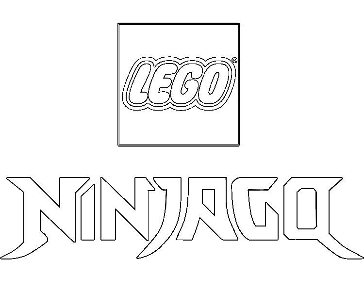 Coloring Page Ninjago Logo Ninjago 6