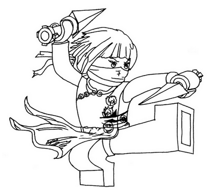 Malvorlagen ninjago