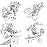 Disegno da colorare Disegni da colorare Ninjago