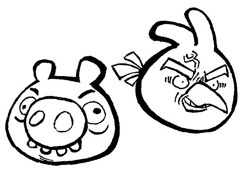 Kleurplaten Van Angry Birds.Kleurplaten Angry Birds Morning Kids