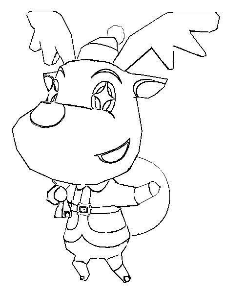 Malvorlagen Animal Crossing 6 Animal Crossing Coloring Pages