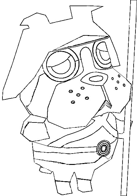 Coloriage Animal Crossing New Leaf.Coloring Page Animal Crossing 9