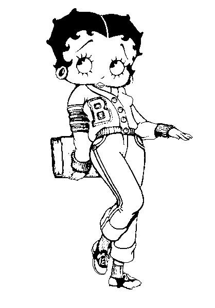 Dibujos de betty Boop bebé - Imagui
