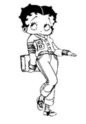 Free Printable Betty Boop Coloring Pages For Kids | 179x125