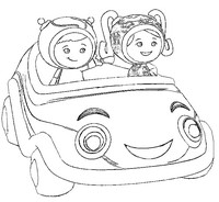 Coloring Pages Umizoomi Drawing