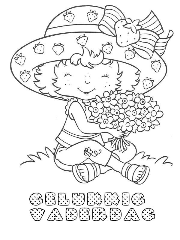 Kleurplaat Gelukkige Vaderdag 6