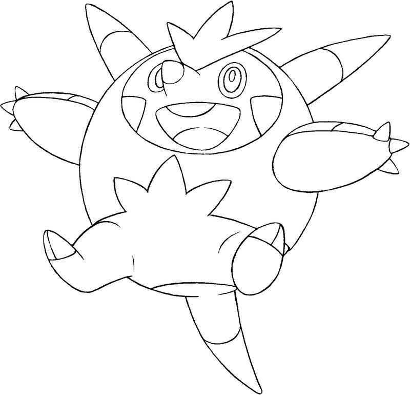Dibujos De Pokemon X Y Para Colorear Imagui