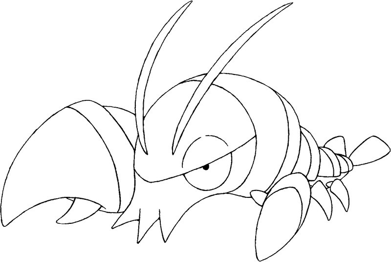 Coloring Pages Pokemon X Y Drawing