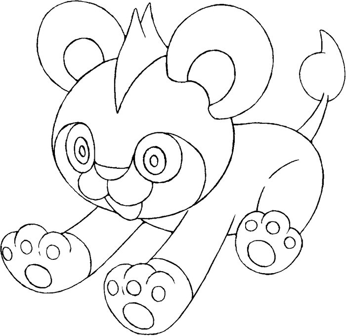 Pokemon Coloring Pages And Y : Coloring page pokemon y
