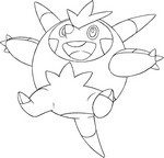 Coloring Pages Pokemon X Y Morning Kids