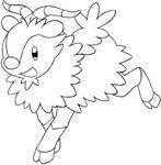 Disegno da colorare Pokemon X Y