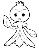 Coloring page 592 - Frillish - Female form