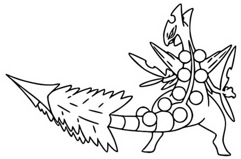 coloring pages pokemon mega evolutions - photo#6