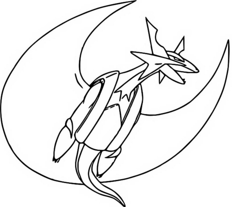Dibujo Para Colorear Pokemon Megaevolucionados Mega Mega Coloring Pages