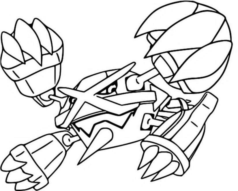 Desenhos Para Colorir Pokemon Megaevolucao Morning Kids