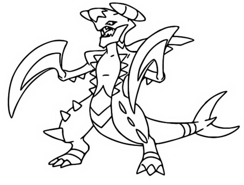 coloring pages pokemon mega evolutions - photo#28