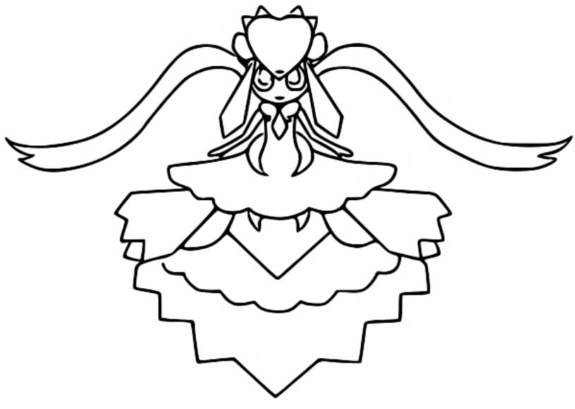 Pokemon mega sceptile coloring pages coloriage mega diancie pokemon