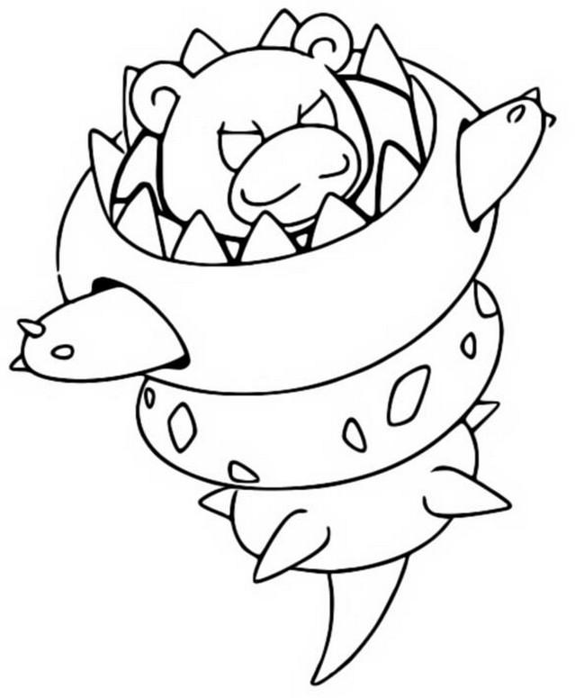 coloring and drawing: glurak mega entwicklung pokemon