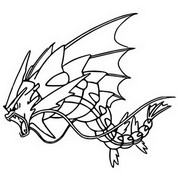 Coloring Pages Mega Evolved Pokémon - Morning Kids