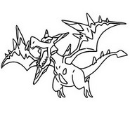Coloring Pages Mega Evolved Pokemon Morning Kids