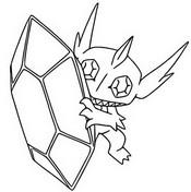 Desenho para colorir Mega Sableye 302