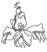 Desenho para colorir Mega Banette 354