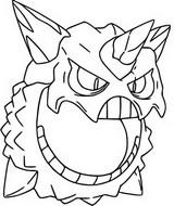 Desenho para colorir Mega Glalie 362