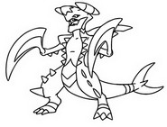 Coloring Pages Mega Evolved Pok mon