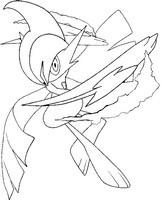 Desenho para colorir Mega Gallade 475