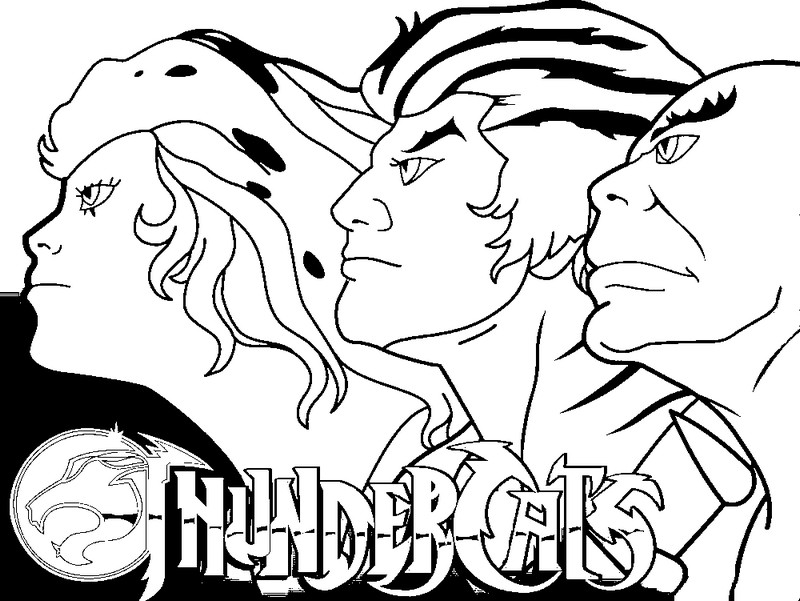 Dibujos para colorear de los thundercats imagui for Coloring pages thundercats