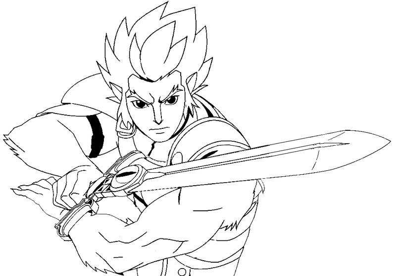 cheetara thundercats coloring pages - photo#24