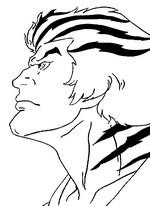 Desenho para colorir Tygra