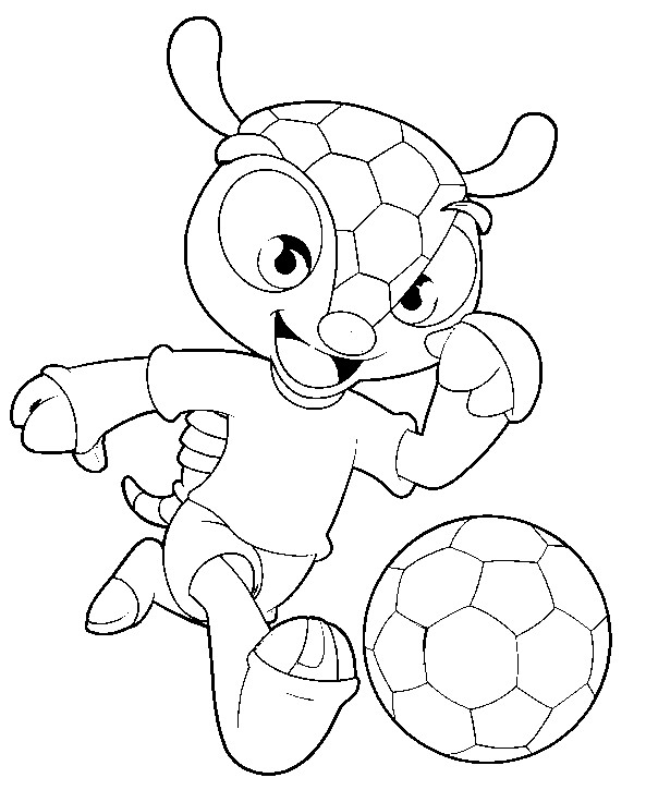 fifa 2014 coloring pages - photo#25