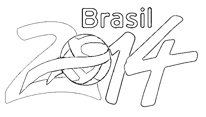 fifa 2014 coloring pages - photo#23