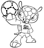 Coloring page Mascot
