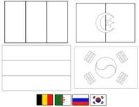 Desenho para colorir Grupo H
