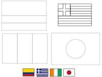 Disegno da colorare Gruppo C